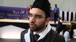 Sadr Khuddam-ul-Ahmadiyya Hassnat Ahmad Sahib - 35. Salana Ijtema 2014