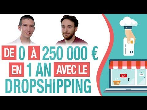 De 0 à 250 000 EUROS en 1 AN ! (E-COMMERCE et DROPSHIPPING) - Histoire INSPIRANTE