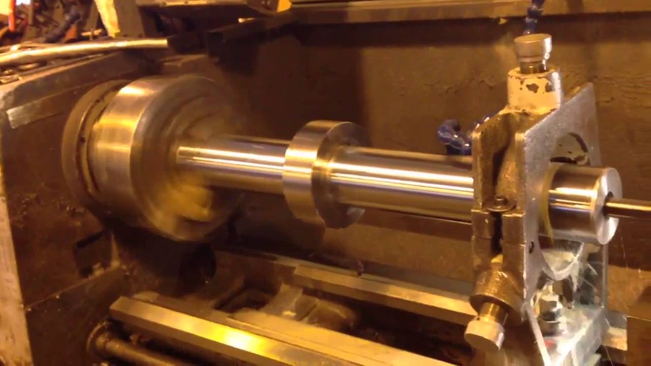 Manufacturing A Hydraulic Cylinder Piston Rod Youtube
