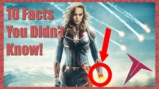 10 Facts About Captain Marvel You Didn't Know! (TOP 10 VIDEOS)