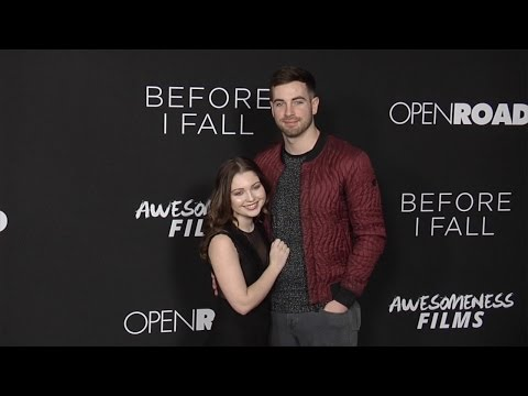 "Sammi Hanratty with Boyfriend Lucas ""Before I Fall"" Los Angeles Premiere"