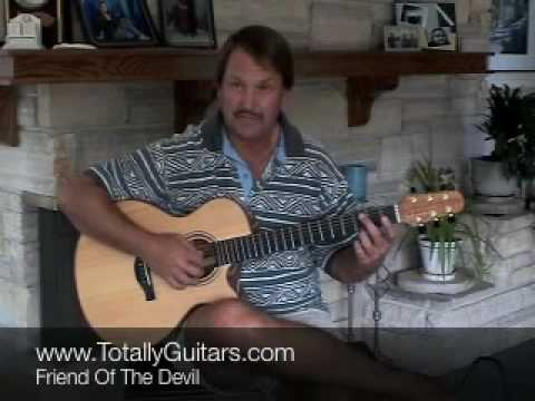 Friend Of The Devil acoustic guitar lesson