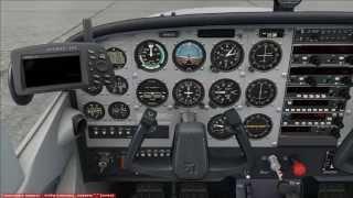 [FSX] A2A Cessna 172  Запуск двигателя