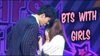 Download lagu BTS with Girls - Cute Moments