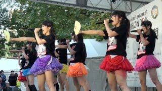 【2016年11月5日】仮面女子候補生の9人が東京・日比谷公園で開催された...