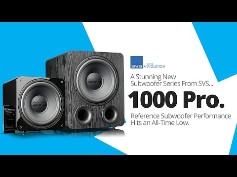 SVS 1000 Pro Series Subwoofers Technology Overview