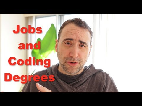 How College Degrees IMPACT Programming Jobs in 2018