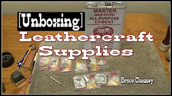 Tandy Leather Leathercraft Supplies for Leather working - leather vlog