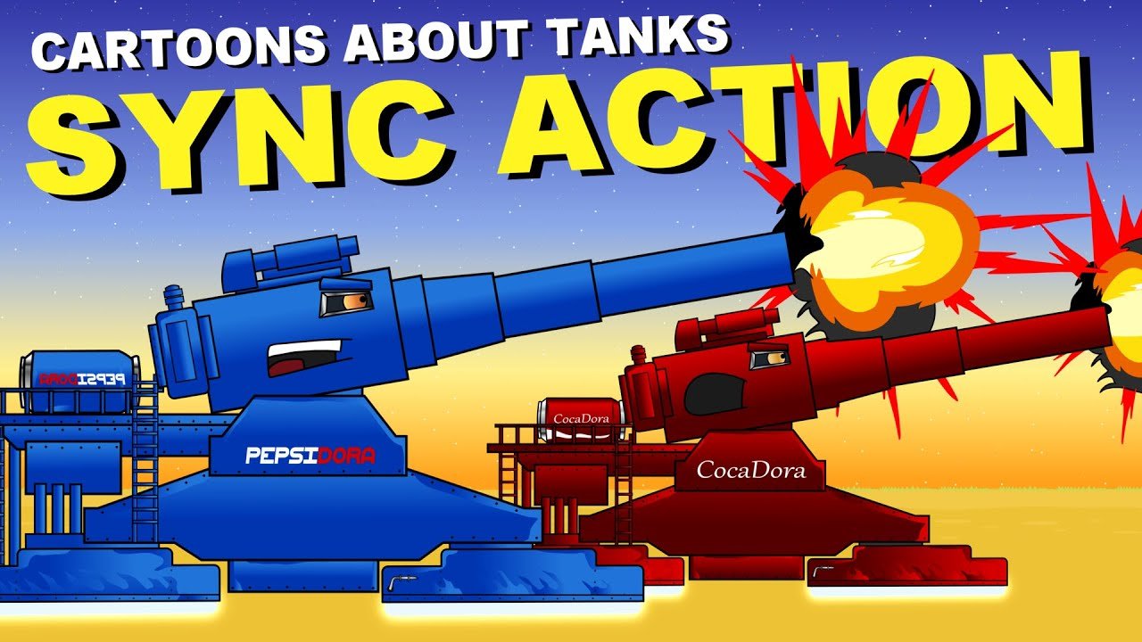 Decisive Battle of the Steel Monsters - Cartoons about tanks