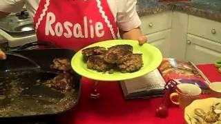 Steak Burgers With Onion + Mushroom Gravy Pg 133 In Rosalie