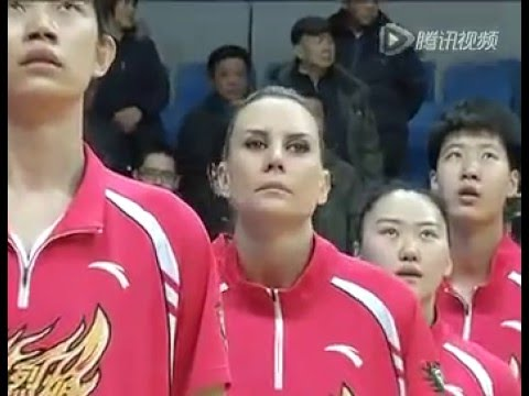 ''Goodbye Penny taylor'' from Shanxi Flame WCBA 2015-16