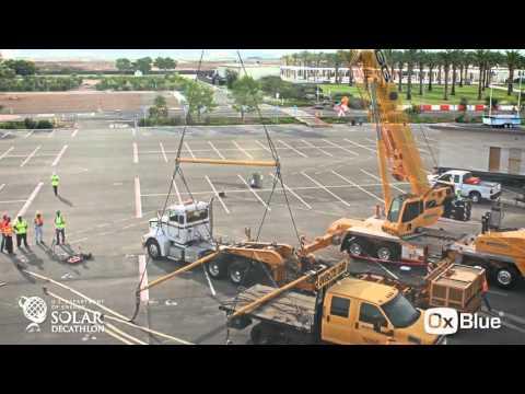 2015 DOE Solar Decathlon - OxBlue Time-Lapse Video