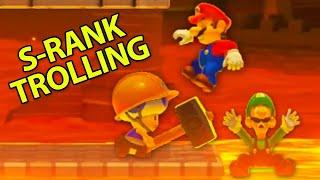 How To Troll in Mario Maker 2 Multiplayer Versus
