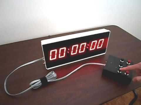 Industrial Digital Timer | LED Large Industrial Countdown Timer