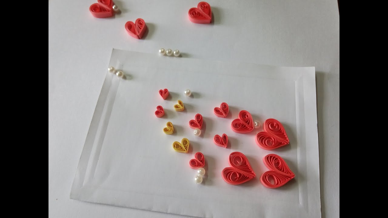 DIY PAPER QUILLING ART AND CRAFT