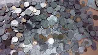 8-е видео монеты в инкасаторском мешке СССР
