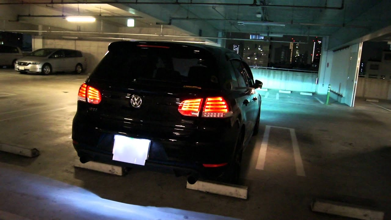 Golf Vi Gti Led Tail Lights① Youtube