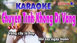 Chuyện Tình Không Dĩ Vãng - Karaoke Nhạc Sống Tùng Bách