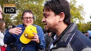 P2 - Blagging it! Mansur Vs Christian | Speakers Corner | Hyde Park