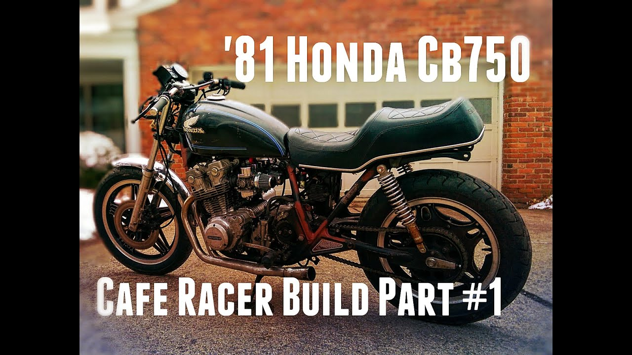 1981 CB750 Cafe Racer Build Part #1 - Getting it Running