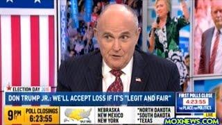 Rudy Giuliani Schools Presstitute On Election Lawsuits!