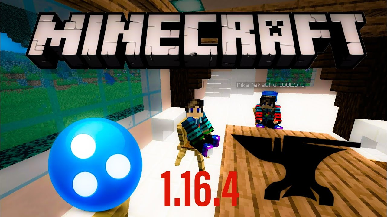 ☑️How to install mod in Minecraft 1 16 4 Server Hamachi YouTube