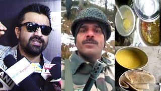 Aijaz Khan's Best Reaction On To Indian Army Jawan's Getting Bad Food Viral Video