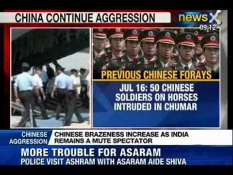 News X : Chinese People Liberation Army inside India