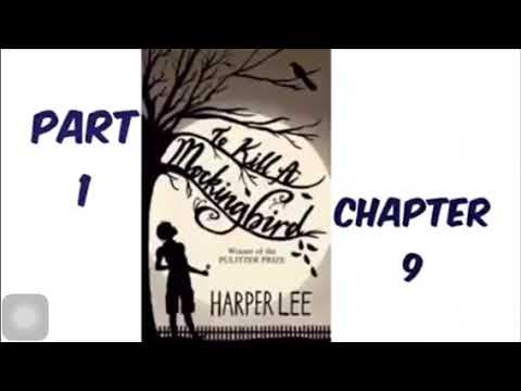 To Kill A Mockingbird By Harper Lee Part 1 Chapter 9 Audiobook Read Aloud
