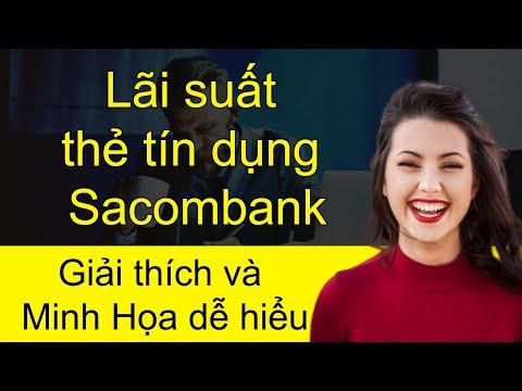 Cách Tính Lãi Rút tiền mặt Thẻ Tín Dụng Sacombank Quận Thủ Đức tphcm