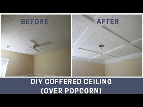 how-to-cover-a-popcorn-ceiling-with-a-diy-coffered-ceiling
