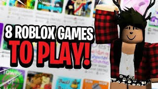The 8 Best Roblox Games To Play in 2020!