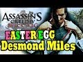 "Assassin's Creed 4 EASTER EGG Desmond Miles ""Assassin's Creed 4 Black Flag Desmond Miles"""