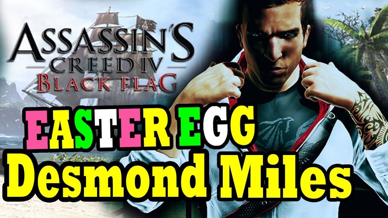 "Assassin's Creed 4 EASTER EGG Desmond Miles ""Assassin's ..."