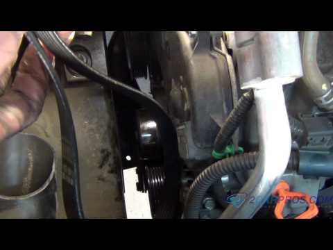 Serpentine Belt Replacement on a 2002-2007 Saturn Vue V6