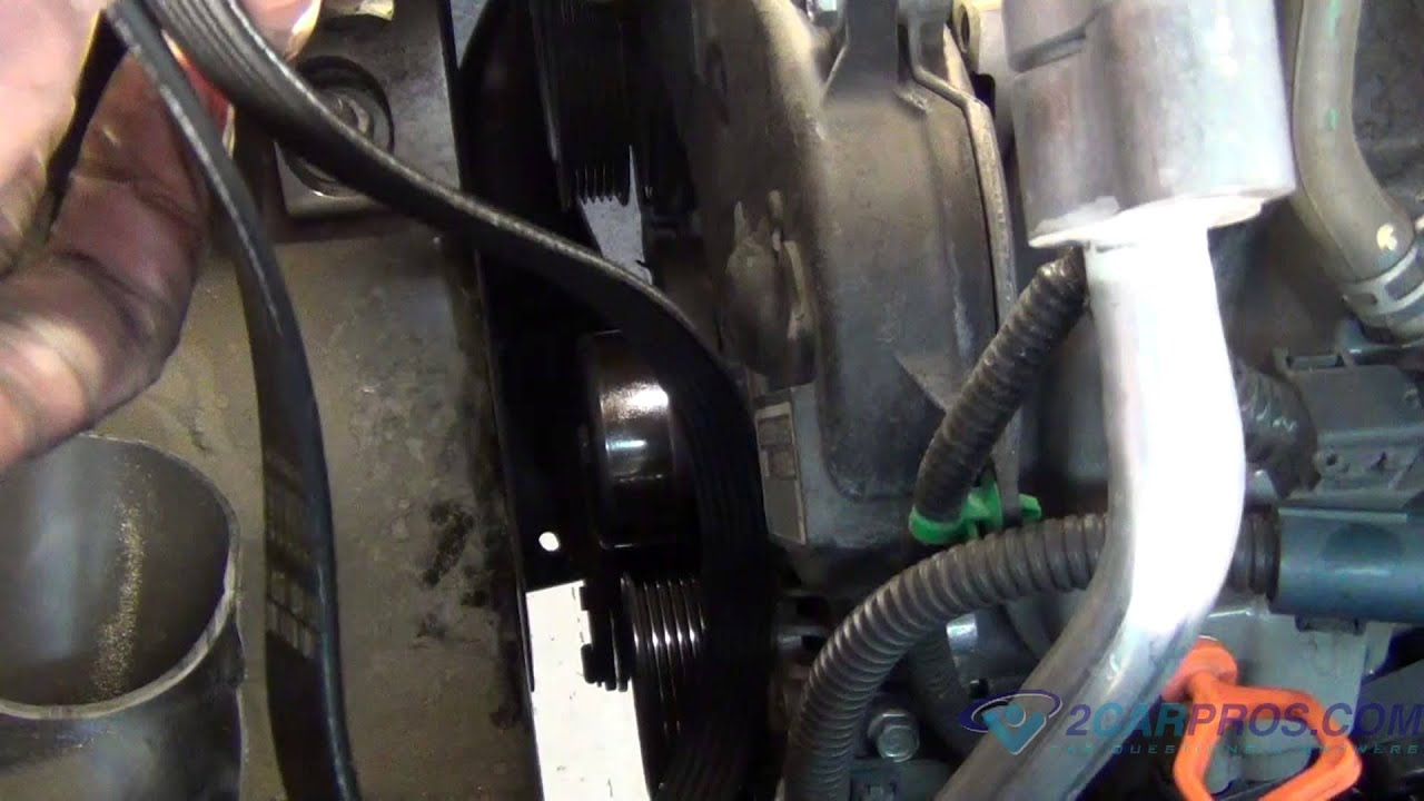 Serpentine Belt Replacement on a 20022007 Saturn Vue V6  YouTube