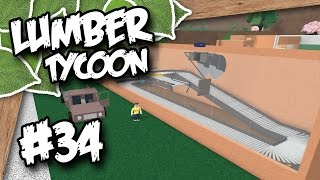 Lumber Tycoon 2 #34 - GLASS FACTORY (Roblox Lumber Tycoon)