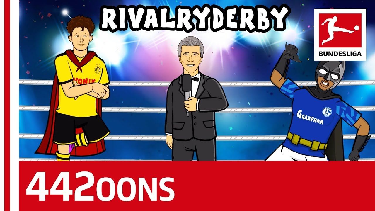 Biggest Rivalry Duels - Schalke vs. Dortmund Revierderby Clash - Powered by  442oons - YouTube