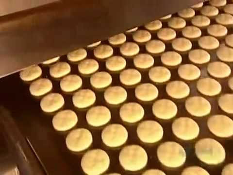How It's Made   Marshmallow Cookies Discover Channel Science