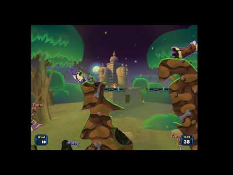 Worms Reloaded  - first game |