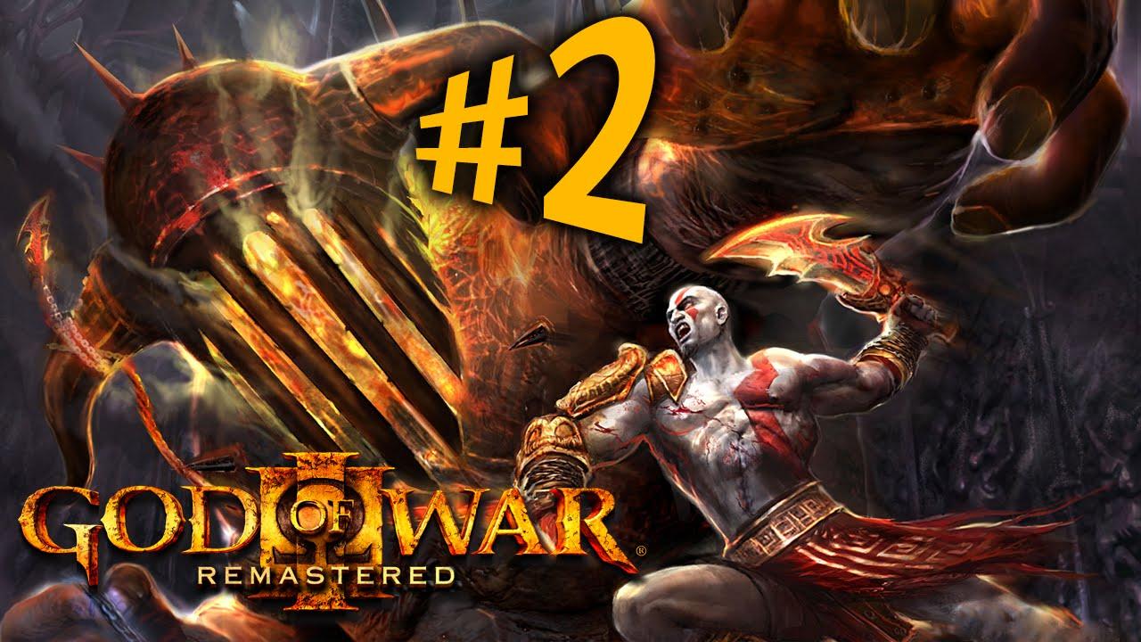God of War 3 Remastered - Parte 2: Hades! [ 60FPS Playstation 4 -  Playthrough PT-BR ]