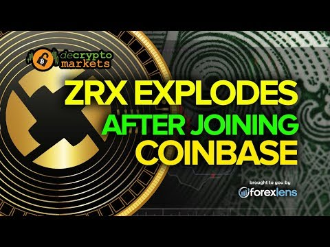 ZRX EXPLODES after joining Coinbase
