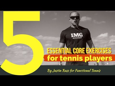 5 Essential core exercises for Tennis Players