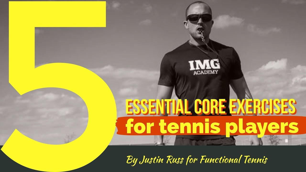 Core exercises for tennis players
