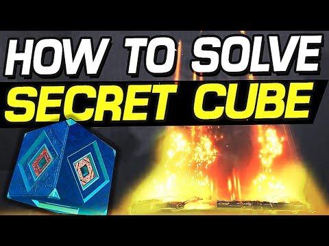 Borderlands 3 - HOW TO SOLVE SECRET CUBE & GET LEGENDARY REWARD !!