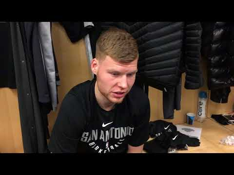 Hoops.co.il Davis Bertans SAS vs Knicks 1 2 18 MSG