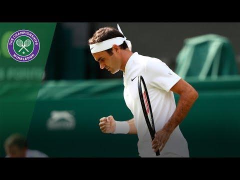 Roger Federer v Alexander Dolgopolov highlights - Wimbledon 2017 first round