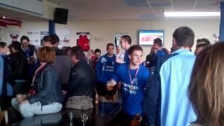 RKTVC kampioenen in de kantine