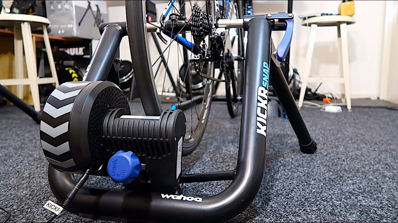 b41346b662c First Look: New Wahoo Kickr SNAP Smart Trainer (SNAP17) - YouTube