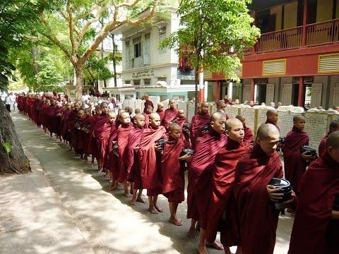 PhuotTV | Ep.31 - Tu viện Mahagandayon (Mahagandayon Monastery, Mandalay, Myanmar)